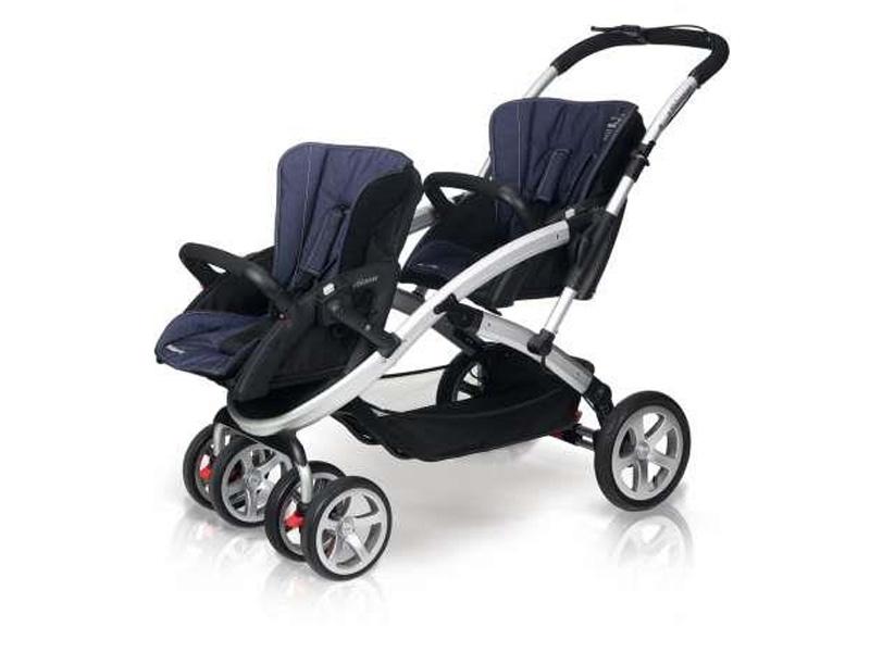 wózek dziecięcy bliźniaczy