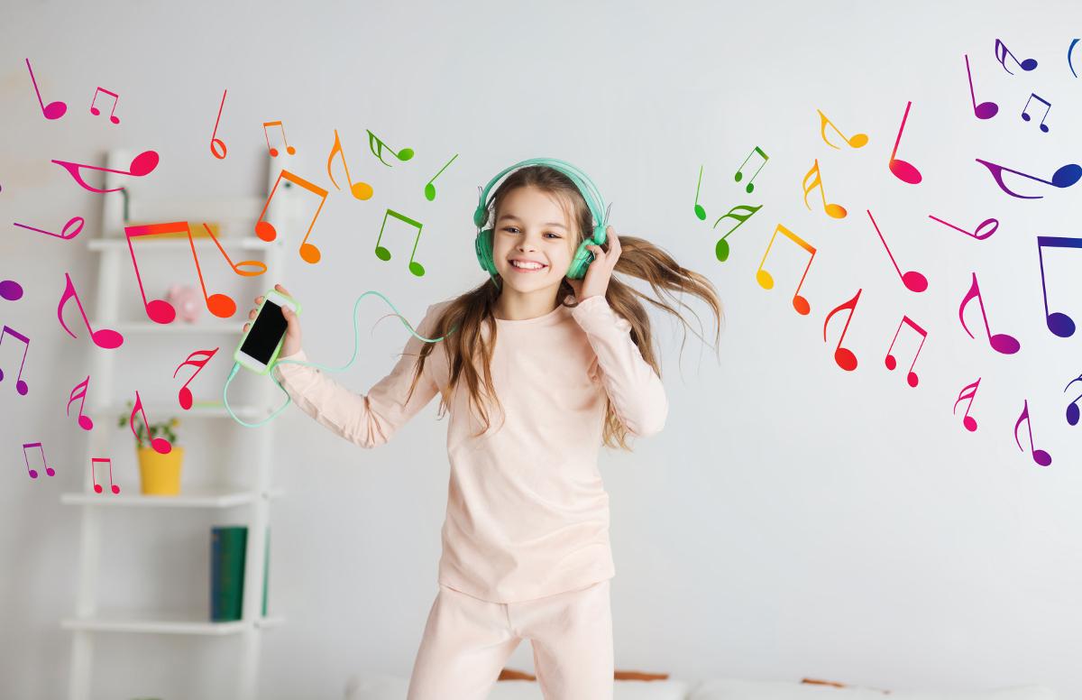 mata do tańczenia dla dzieci