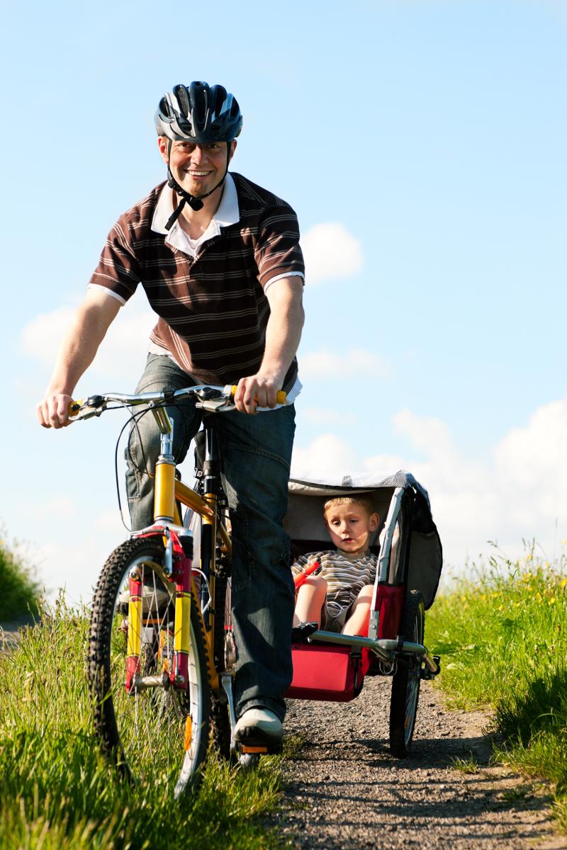 dobre przyczepki rowerowe dla dzieci