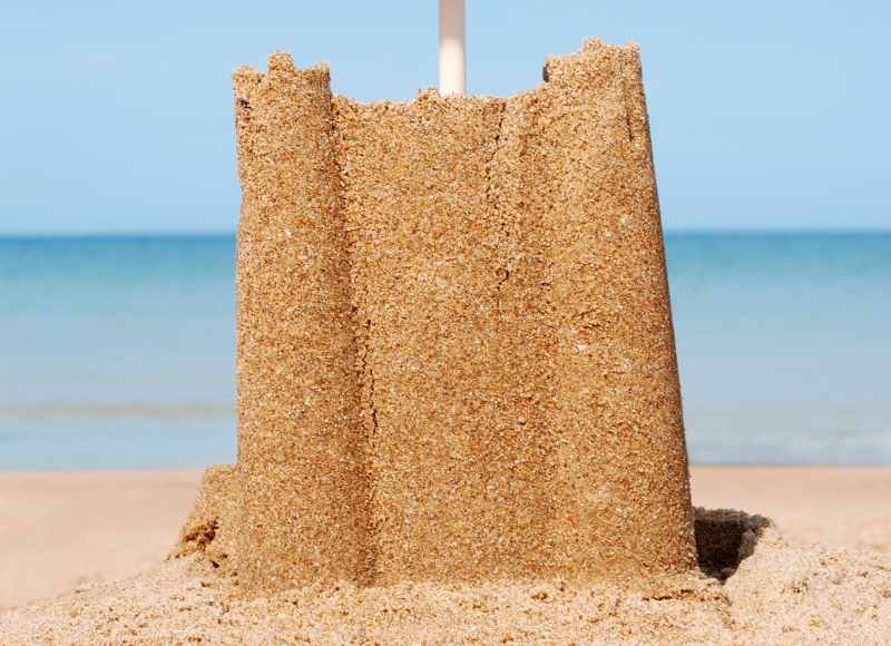 jak zrobić piasek kinetyczny poradnik