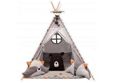 namioty dla dzieci tipi