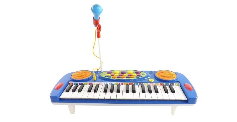 keyboard dla dzieci z mikrofonem