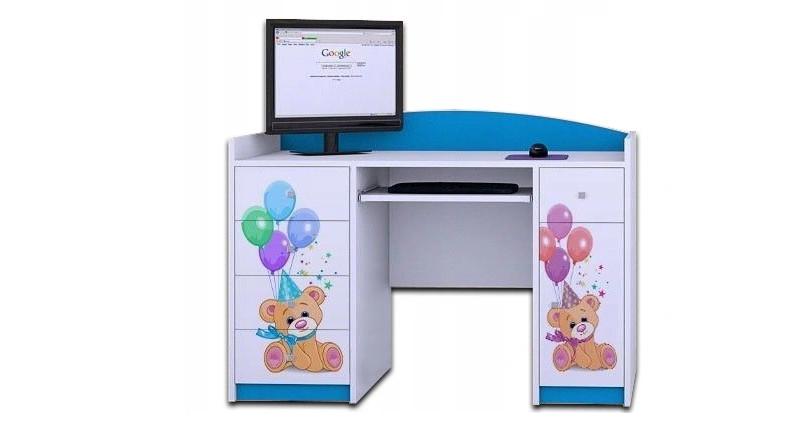 ergonomiczne biurko regulowane