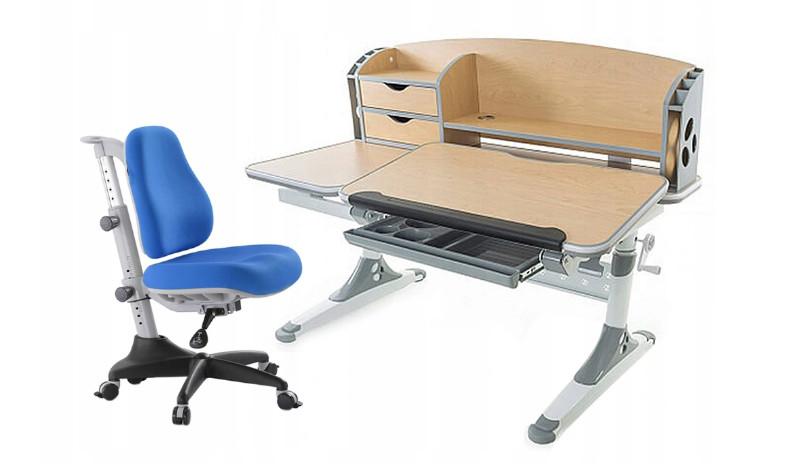 najlepsze biurko regulowane dla dziecka