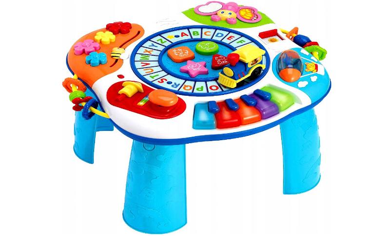 stolik interaktywny dla niemowlaka