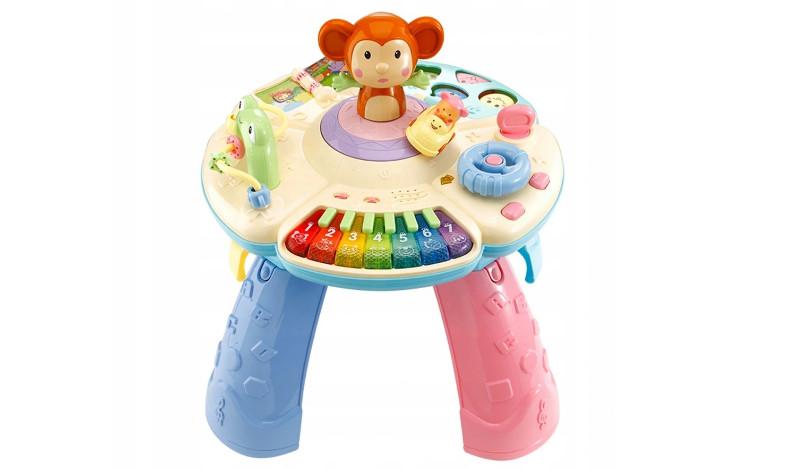 stolik edukacyjny dla niemowlaka